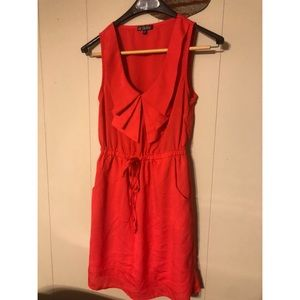 Bebop Bright coral dress size small